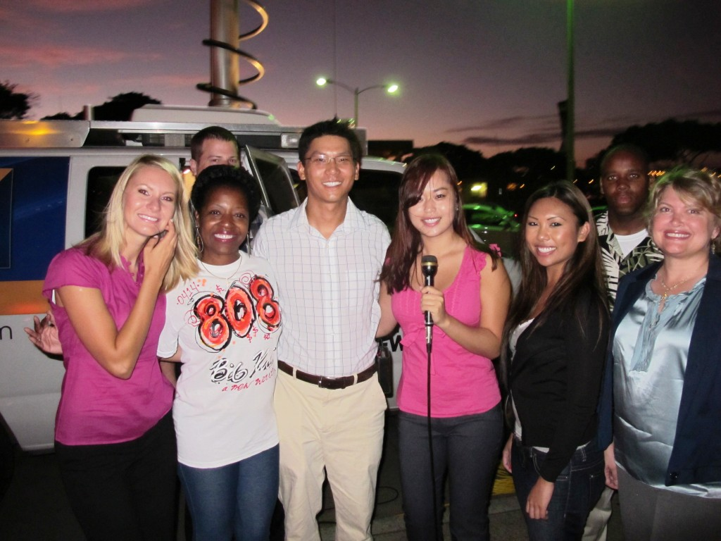 KITV and UH APEC Interns Back to School