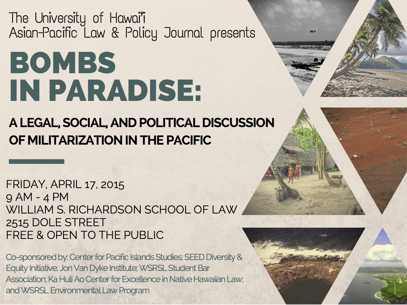 Bombs in Paradise: A Legal, Social, and Political Discussion of Militarization in the Pacific