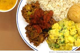 hare krishna food