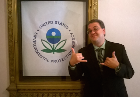 Frank Cioffi Completes Summer Clerkship at the EPA Headquarters in Washington, D.C.