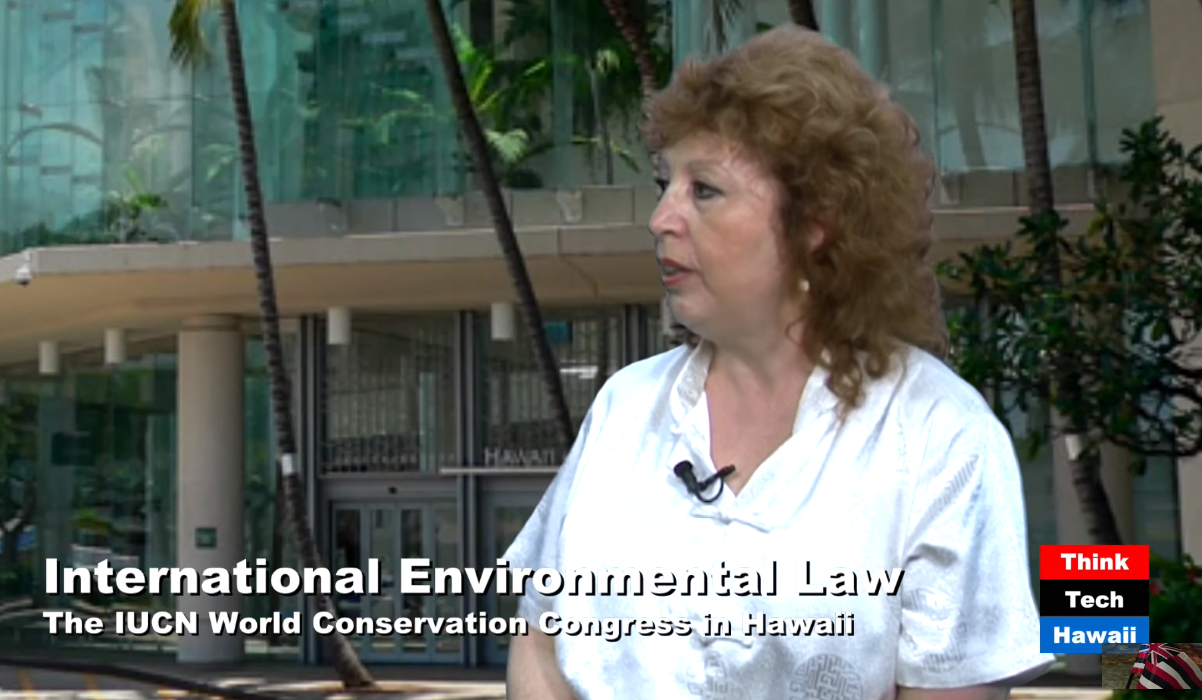 Dr. Nilufer Oral discusses IUCN Congress & International Environmental Law