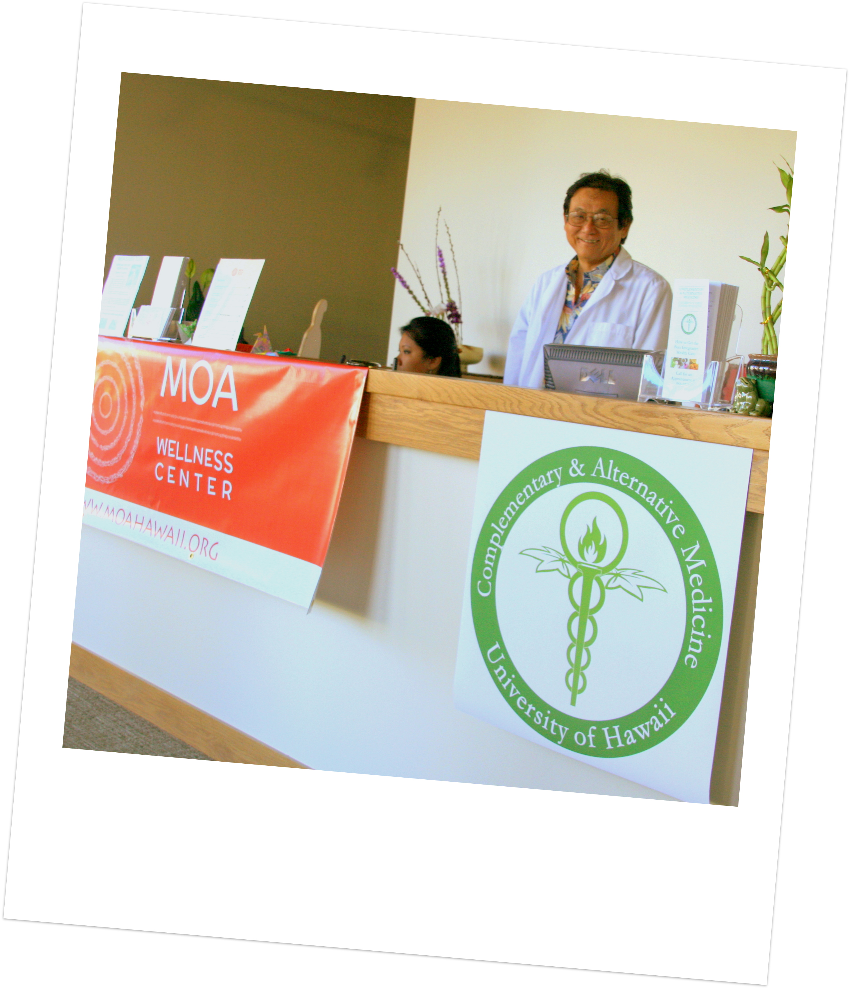 Department of Complementary & Alternative Medicine at MOA Wellness Center
