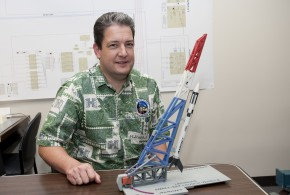 Luke Flynn, Director, Hawaii Space Flight Laboratory at SOEST.