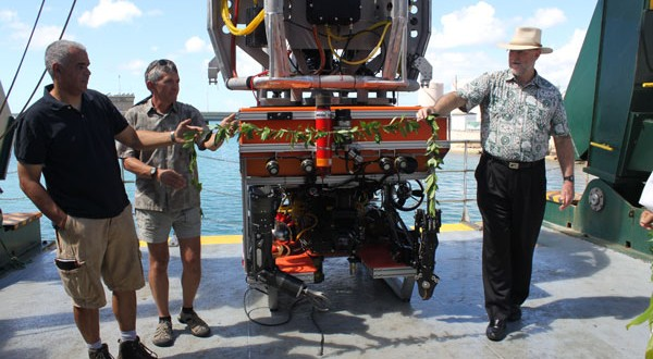 Remotely operated vehicle Lu'ukai joins ocean exploration fleet