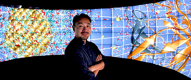 Visualization expert Jason Leigh is key new UH Innovation Initiative hire