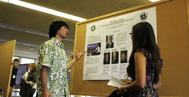 Fall Forum highlights undergraduate research, Honors program