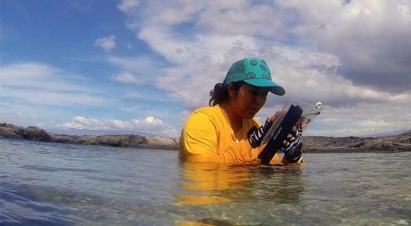 Novel waterproof electronic tablets for reef monitoring