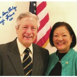 Jerris Hedges and Mazie Hirono