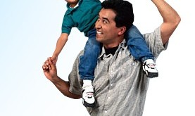 Dad and son1