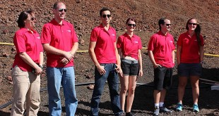 Crew members of the fourth Hawaii Space Exploration Analog and Simulation mission. Credit: UH News