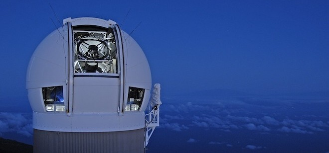 Asteroid discovered by UH telescope