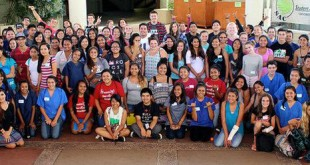 Hilo Teen Health Camp participants (August 2015).