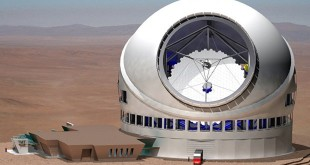 Artist's rendering of the Thirty Meter Telescope