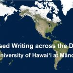 Placed based writing logo