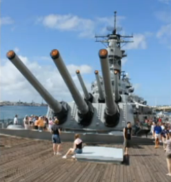 Battleship Missouri.