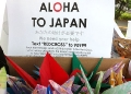 Aloha to Japan cranes and fundraising info