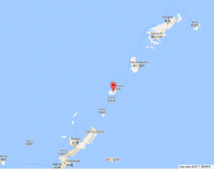Okinoerabujima on Google Maps