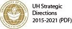 University of Hawaii seal, text UH Strategic Directions, 2015-2021