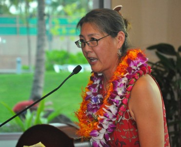 Dr. Marjorie Mau, the first chair of the Department of Native Hawaiian Health