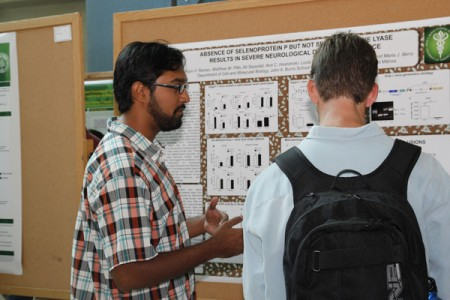 Arjun Raman explains his research