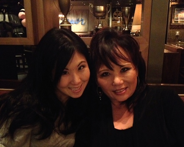 Krista and her mother Donna Kiyosaki