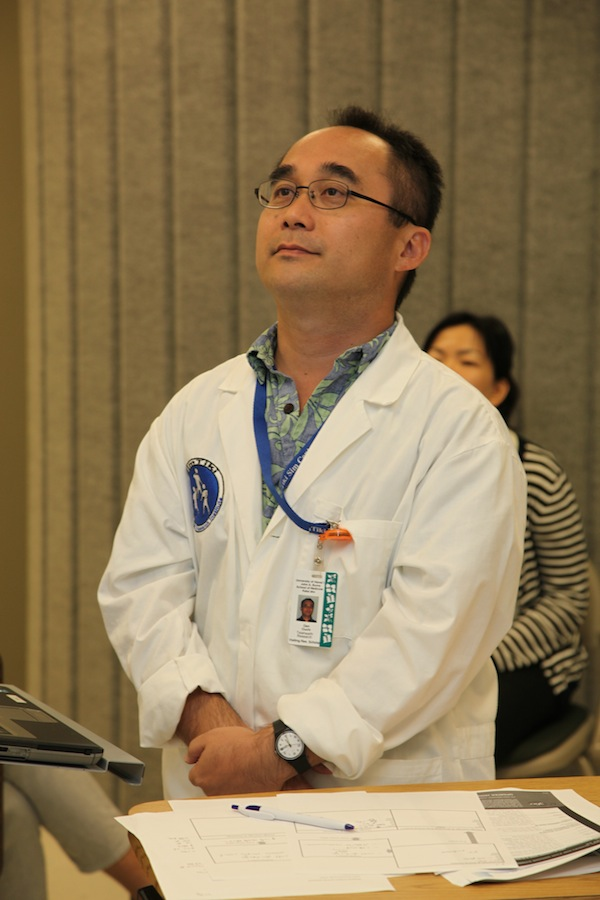 Dr. Gen Ouchi , Michael Von Platten photo.