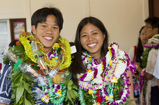 Jaryd Yee and Anne Yoshizawa, MDs, Class of 2013.
