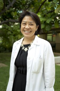 Dr. Kathleen Mah. Photo courtesy of The Queen's Medical Center.