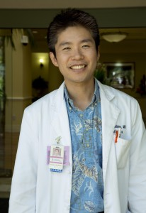 Dr. Kentaro Nishino. Photo courtesy of The Queen's Medical Center.