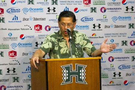 Ben Jay, University of Hawai`i Athletics Director