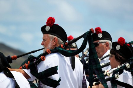 Celtic Pipes and Drums of Hawai`i